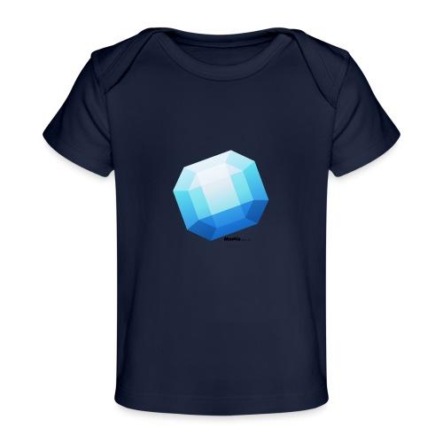 Szafir - Ekologiczna koszulka dla niemowląt