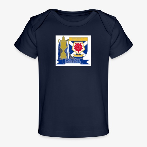 MFCSC Champions Artwork - Organic Baby T-Shirt