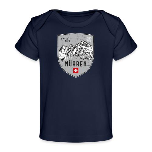 Murren Switzerland coat of arms - Organic Baby T-Shirt