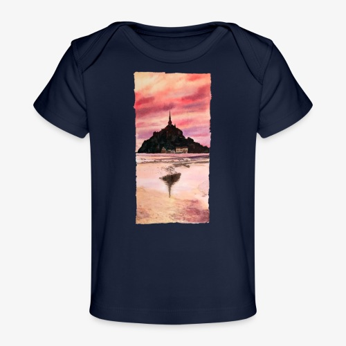 Mont St Michel - Organic Baby T-Shirt
