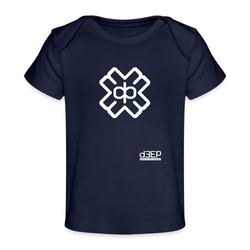 July D3EP Blue Tee - Organic Baby T-Shirt