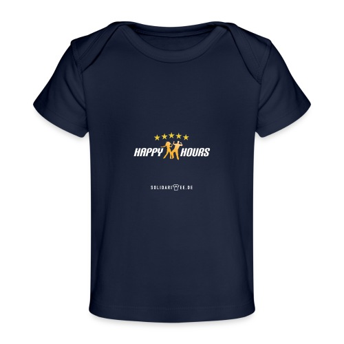 Happy Hours final weiss - Baby Bio-T-Shirt