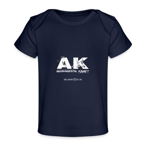 AK final neu weiss - Baby Bio-T-Shirt