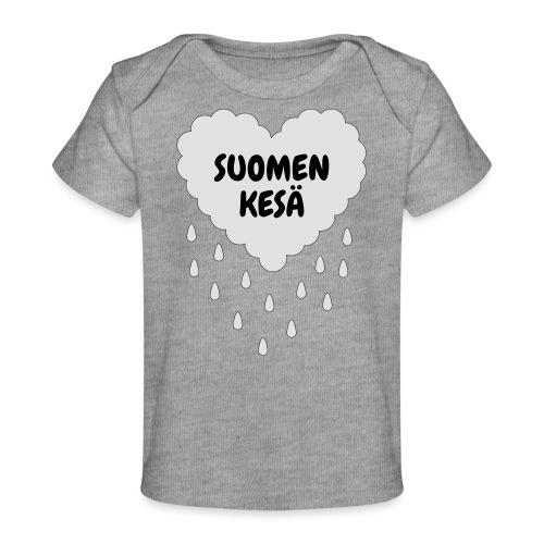 Suomen kesä - Vauvojen luomu-t-paita