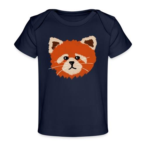 Amanda the red panda - Organic Baby T-Shirt