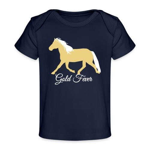 Haflinger Pferd *Gold Fever* - Baby Bio-T-Shirt