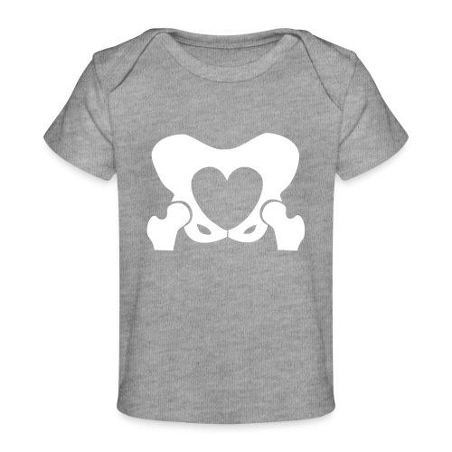 Love Your Hips Logo - Organic Baby T-Shirt