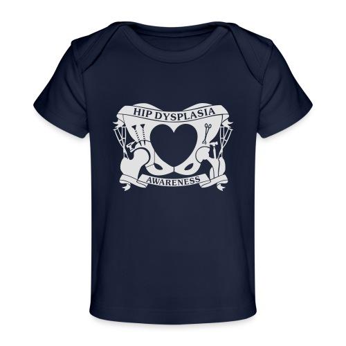 Hip Dysplasia Awareness - Organic Baby T-Shirt