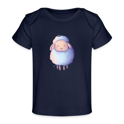 Kleines Schäfchen - Baby Bio-T-Shirt