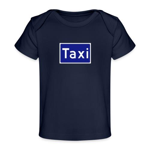 Taxi - Økologisk baby-T-skjorte
