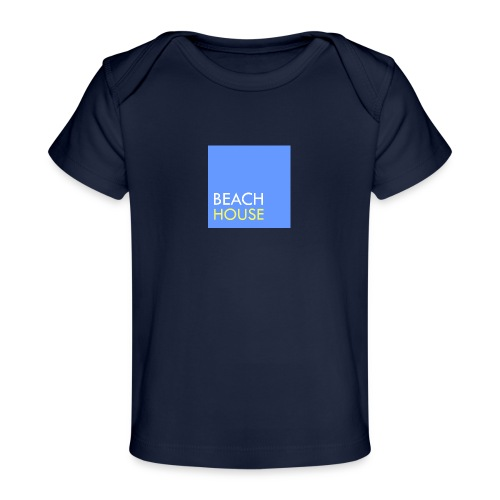Blue Summer Logo - Organic Baby T-Shirt