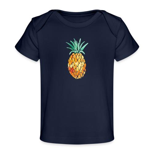 pinety logo print - Økologisk T-shirt til baby