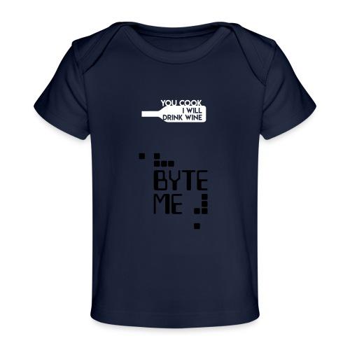 ByteMe - Økologisk T-shirt til baby