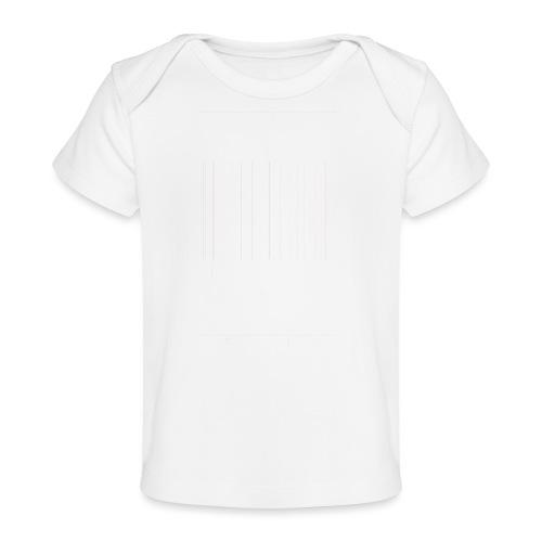 STEUN JE PLAATSELIJKE [WIT] - Baby bio-T-shirt