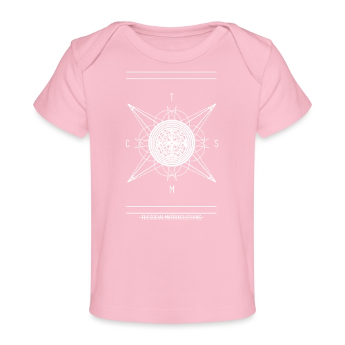 DE PIONEER [WIT] - Baby bio-T-shirt