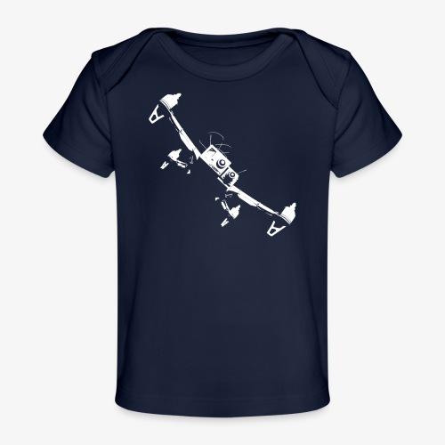 quadflyby2 - Organic Baby T-Shirt