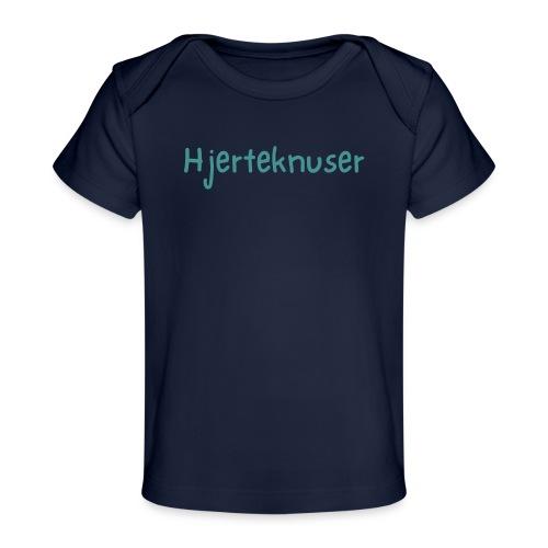 Hjerteknuser - Økologisk baby-T-skjorte