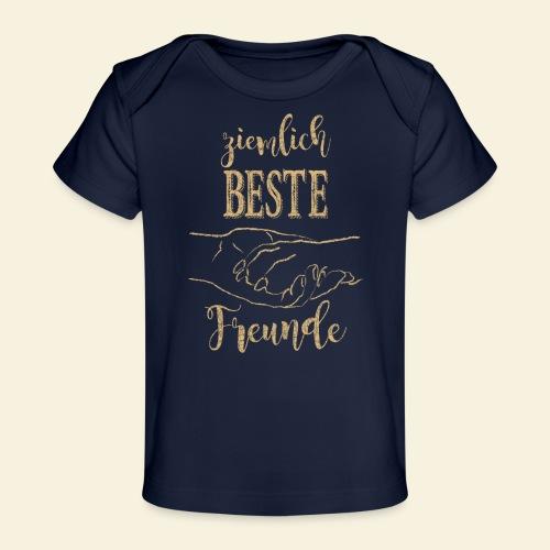 ziemlich Beste Freunde_be - Baby Bio-T-Shirt