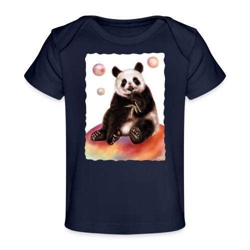 Panda World - Maglietta ecologica per neonato