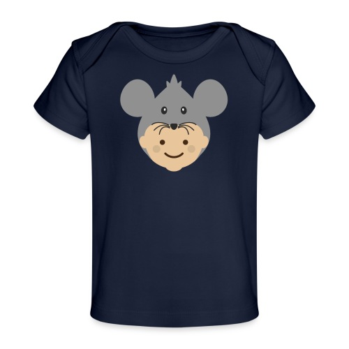 Mr Mousey | Ibbleobble - Organic Baby T-Shirt