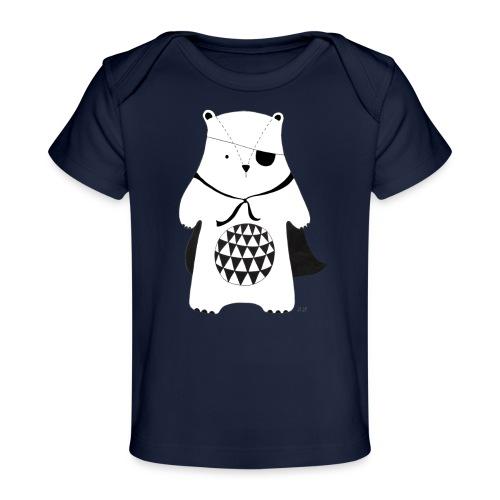 stoere beer - Baby bio-T-shirt