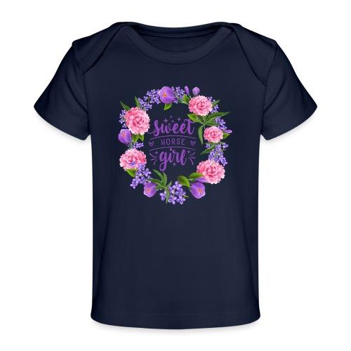 Sweet Horse Girl - Baby Bio-T-Shirt