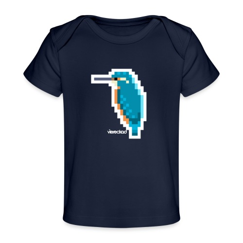 Eisvogel III - Baby Bio-T-Shirt