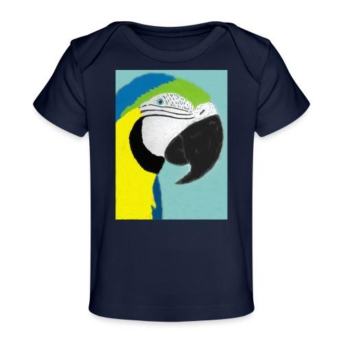 Parrot, new - Vauvojen luomu-t-paita