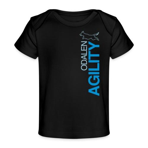 odalen agility blue1 - Organic Baby T-Shirt