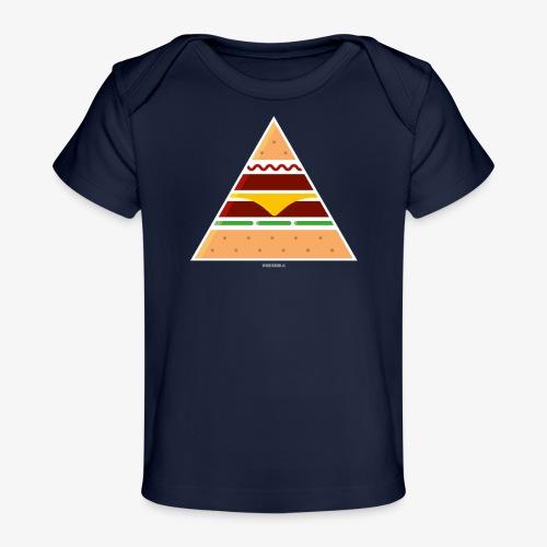 Triangle Burger - Maglietta ecologica per neonato