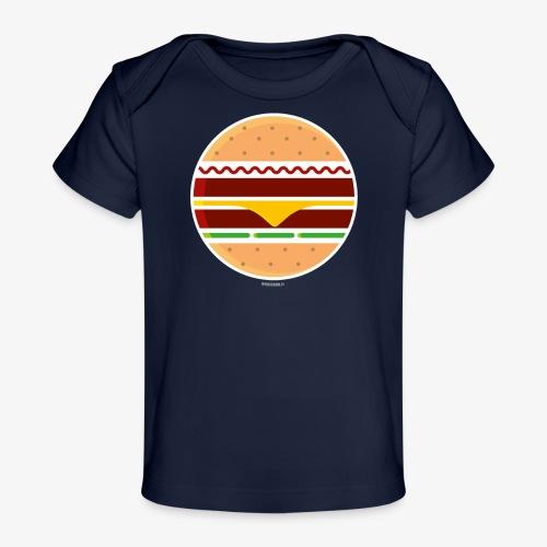 Circle Burger - Maglietta ecologica per neonato