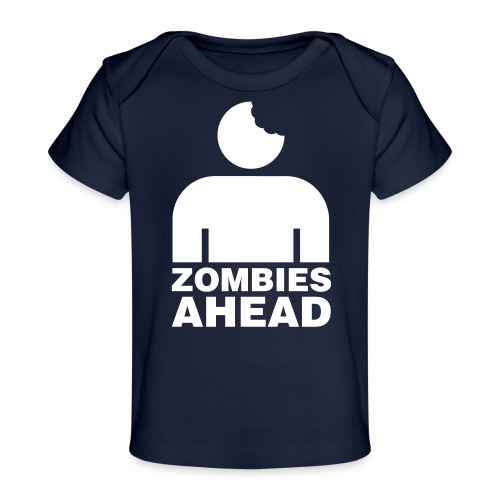 Zombies Ahead - Ekologisk T-shirt baby