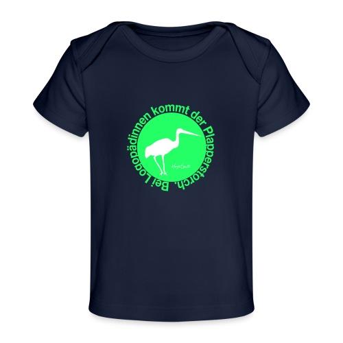 Plapperstorch - Baby Bio-T-Shirt