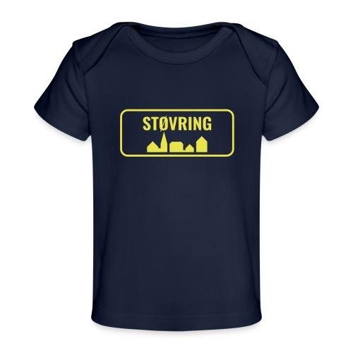 Støvring Byskilt - Økologisk T-shirt til baby