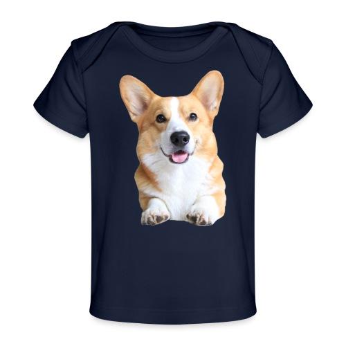 Topi the Corgi - Frontview - Organic Baby T-Shirt