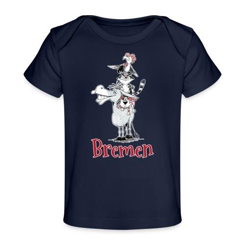 Bremer Stadtmusikanten - Baby Bio-T-Shirt