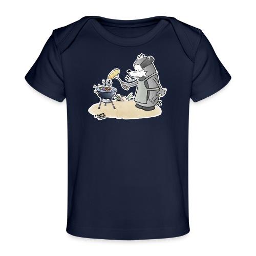 Grillmeister - Økologisk baby-T-skjorte