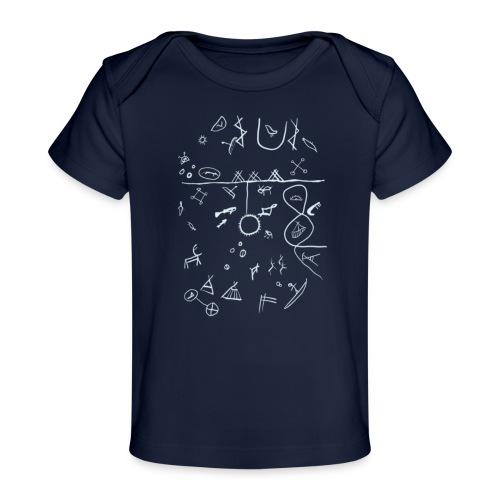 Runebomme - Økologisk baby-T-skjorte