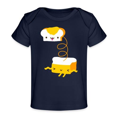 Cat sandwich gatto sandwich - Maglietta ecologica per neonato