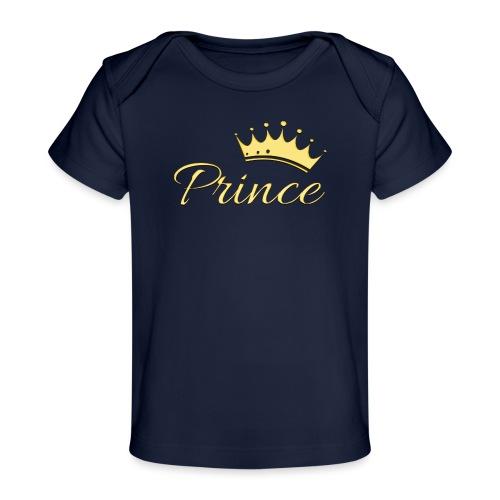 Prince Or -by- T-shirt chic et choc - T-shirt bio Bébé