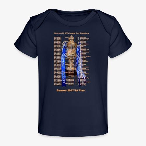 Montrose League Cup Tour - Organic Baby T-Shirt