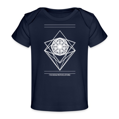 VISION [WHITE] - Baby bio-T-shirt