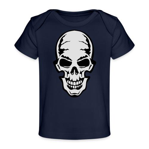 gothic gothique tete mort skull dead 106 - T-shirt bio Bébé