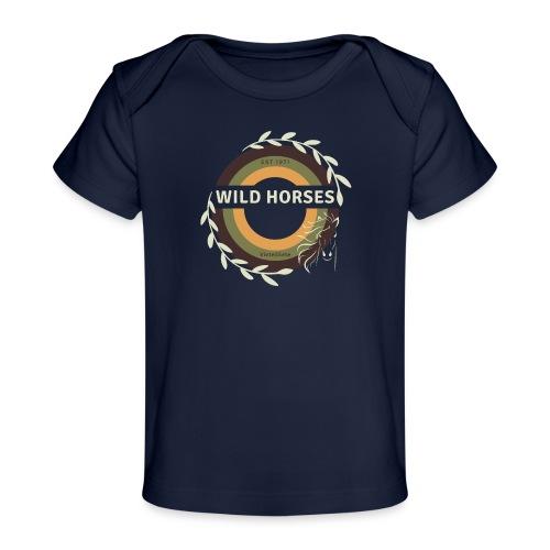 Wild Horses - Baby bio-T-shirt