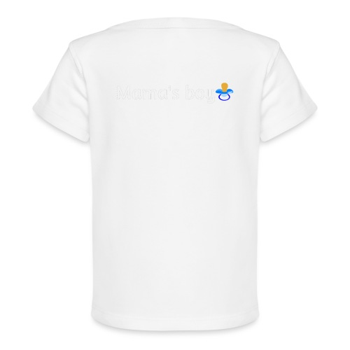 Mama's boy - Organic Baby T-Shirt