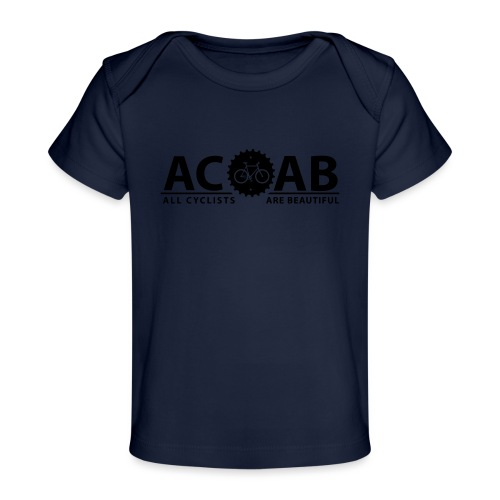 ACAB All Cyclists Are Beautiful T-Shirts - Baby Bio-T-Shirt