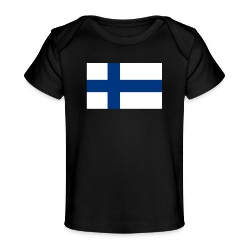 800pxflag of finlandsvg - Vauvojen luomu-t-paita