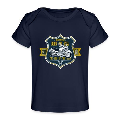 Motorcycle2 - Camiseta orgánica para bebé