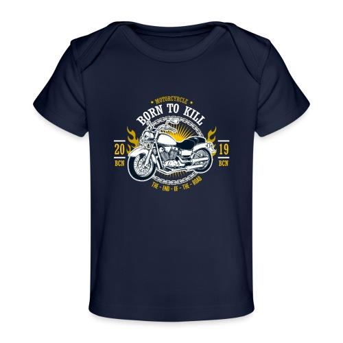 Motorcycle1 - Camiseta orgánica para bebé