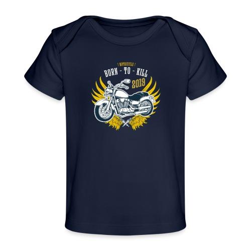 Motorcycle4 - Camiseta orgánica para bebé